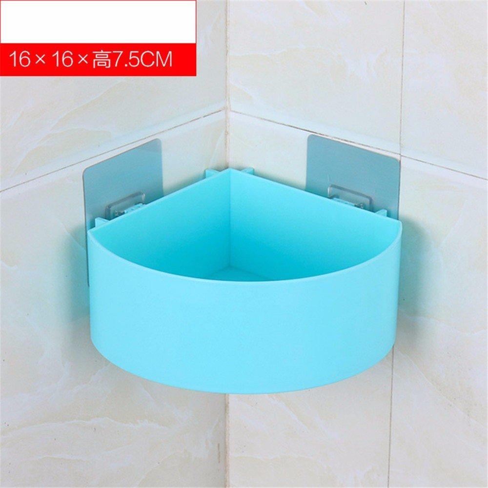 Amazon.com: Paste Toilet Simple Plastic Bathroom Shelf Bathroom ...