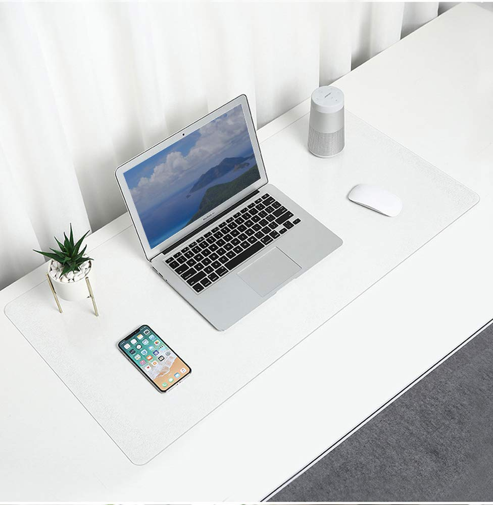 30cm Durable Non-Slip Clear Desk Mat,PVC Oil Proof Heat Resistant Table Protector,Waterproof Keyboard Mat for Office//Home-70