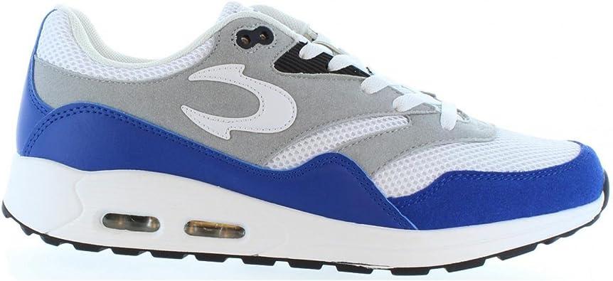Zapatillas Deporte de Hombre JOHN SMITH Risen 16I Blanco-Real Talla 40: Amazon.es: Zapatos y complementos