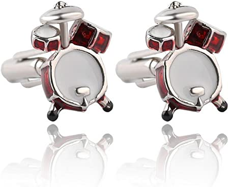 Fansi 1 Paire de Boutons de Manchette Tendance pour Homme Business Boutons de Manchette pour Homme Bracelet de Batterie Bijoux de Mariage Accessoires de Chemise cr/éatifs