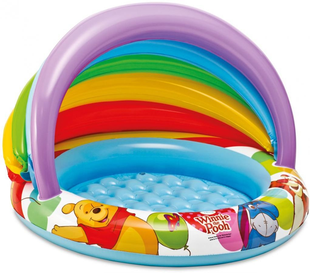 Intex 57424NP - Disneys Winnie the Pooh Baby Pool, 102 x 69 cm by ...