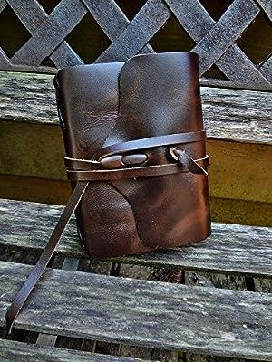 No.96 Rustic Handmade 4x6 Leather Photo Album