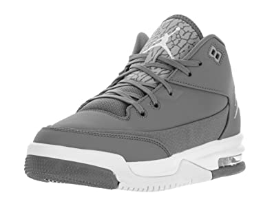 JORDAN Flight Origin 3 Gg Big Kids Style, Wolf Grey/Vivid Pink/Black