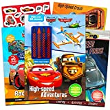 Ingramcontent Disney Cars Ultimate Coloring Book Set -- 3 Deluxe Cars Activity Books with Over 180 Stickers and Crayons (Disney Cars Books for Toddlers Kids)