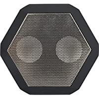 BoomBotix REX-GRY-02 REX Wireless Ultraportable Weatherproof Speaker for iPods Smartphones Tablets and Laptops (Gunmetal Gray)