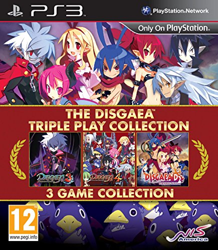 The Disgaea Triple Play Collection (Triple Collection Play)