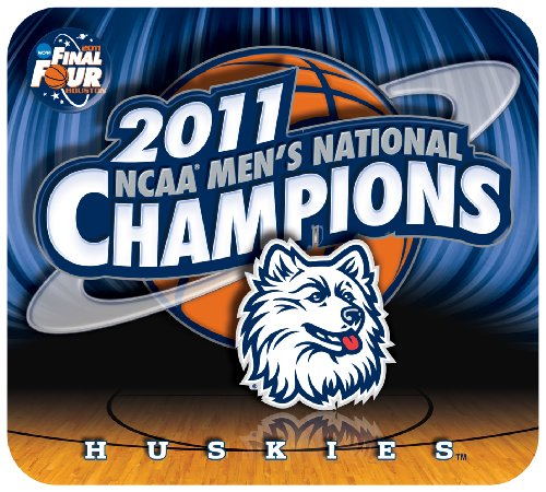 (NCAA Connecticut Huskies 2011 National Champions Sublimated Mouse Pad)