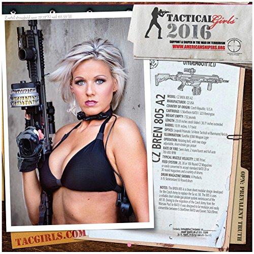 (2016 Tactical Girls Gun Calendar)