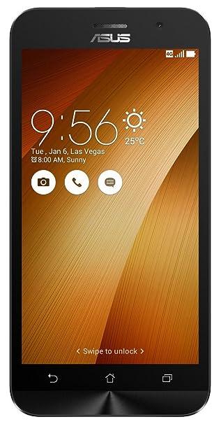 Asus Zenfone Go 5.0 LTE 2nd Gen (Gold, 16 GB) (2 GB RAM) Smartphones at amazon