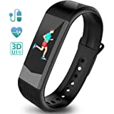Ironpeas Fitness Tracker Heart Rate Monitor Activity Tracker Fitness Watch Pedometer Sleep Monitor Smart Bracelet Waterproof 3D UI Color Display with GPS, Blood Pressure Monitor for Kids Women Men by