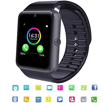 Smartwatch Bluetooth Reloj Inteligente Android con Ranura ...