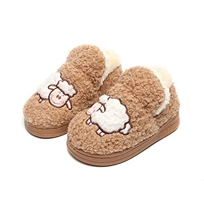 ChainSee Boys Girls Slipper Baby Winter Cartton Warm Indoor Plush Shoes