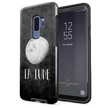 coque samsung s9 silicone lune
