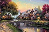Coeus Wooden Puzzles-a Series of Famouse Works- The Village Near the River,educational Games for Kids / Puzzles for Adults,1500 Pieces Jigsaw Puzzle