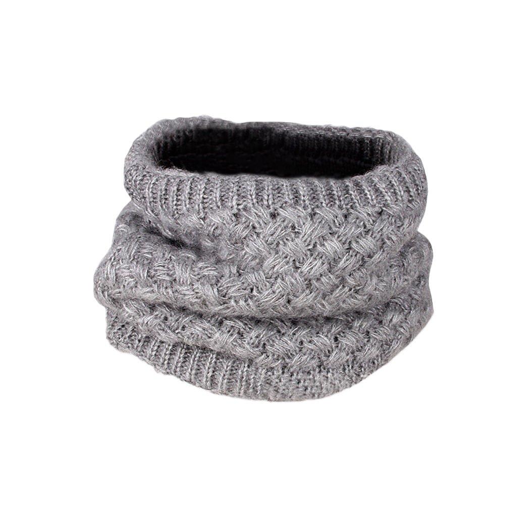 MIOIM Mens Womens Winter Thick Knitted Fleece Neck Gaiter Warmer Ski Scarf Balaclavas S2026307