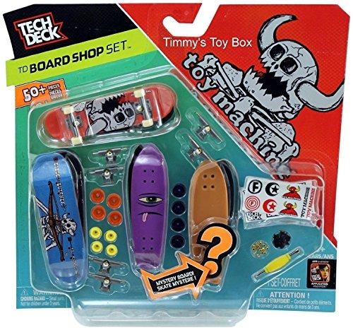 TECH DECK Board Shop 6-Pack Toy Machine Set ()
