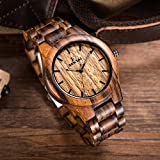 Handmade-Mens-Zebra-Wooden-Watch-Natural-Wood-Wrist-Watch-ST-1001-BBM