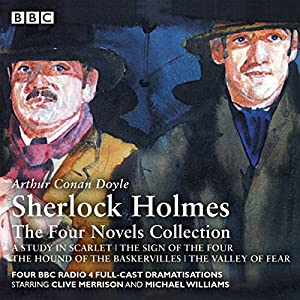 Sherlock Holmes: The Four Novels Collection Radio/TV Program