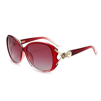 LQQAZY 2018 Perla Gafas De Sol Polarizadas Gafas De Sol Cara ...