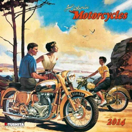 Historic Motorcycles (Media Illustration)