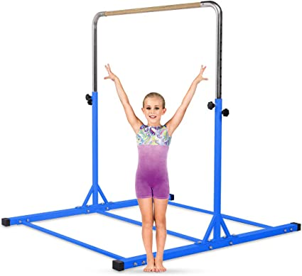 Adjustable Gymnastics Junior Training Horizontal Bar Equipment Durable Children