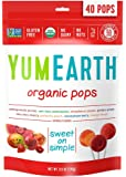 YumEarth Organic Lollipops, Assorted Flavors, 40 lollipops per Pack, 8.7 Ounce (Pack of 1)