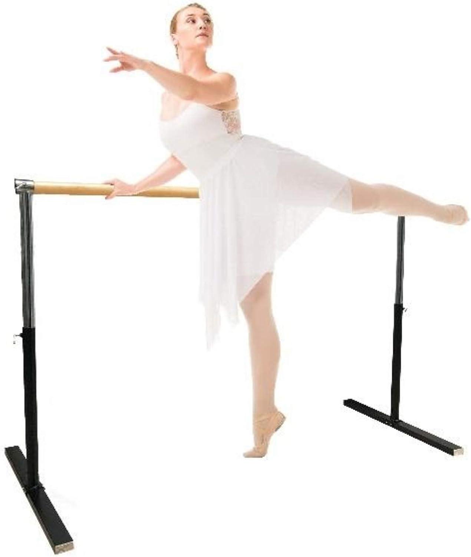 Stable Danse Artan Barre de Ballet pour la Maison ou Le Studio Barre r/églable pour /étirement Bar Unique Pilates /équilibre Enfants et Adultes