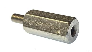 Ganter Standard Elements Adjustable Clamping Lever with Thread Screw Pack of 1, Black//Strukturmatt, Green 300/Audio M16, 63, Black