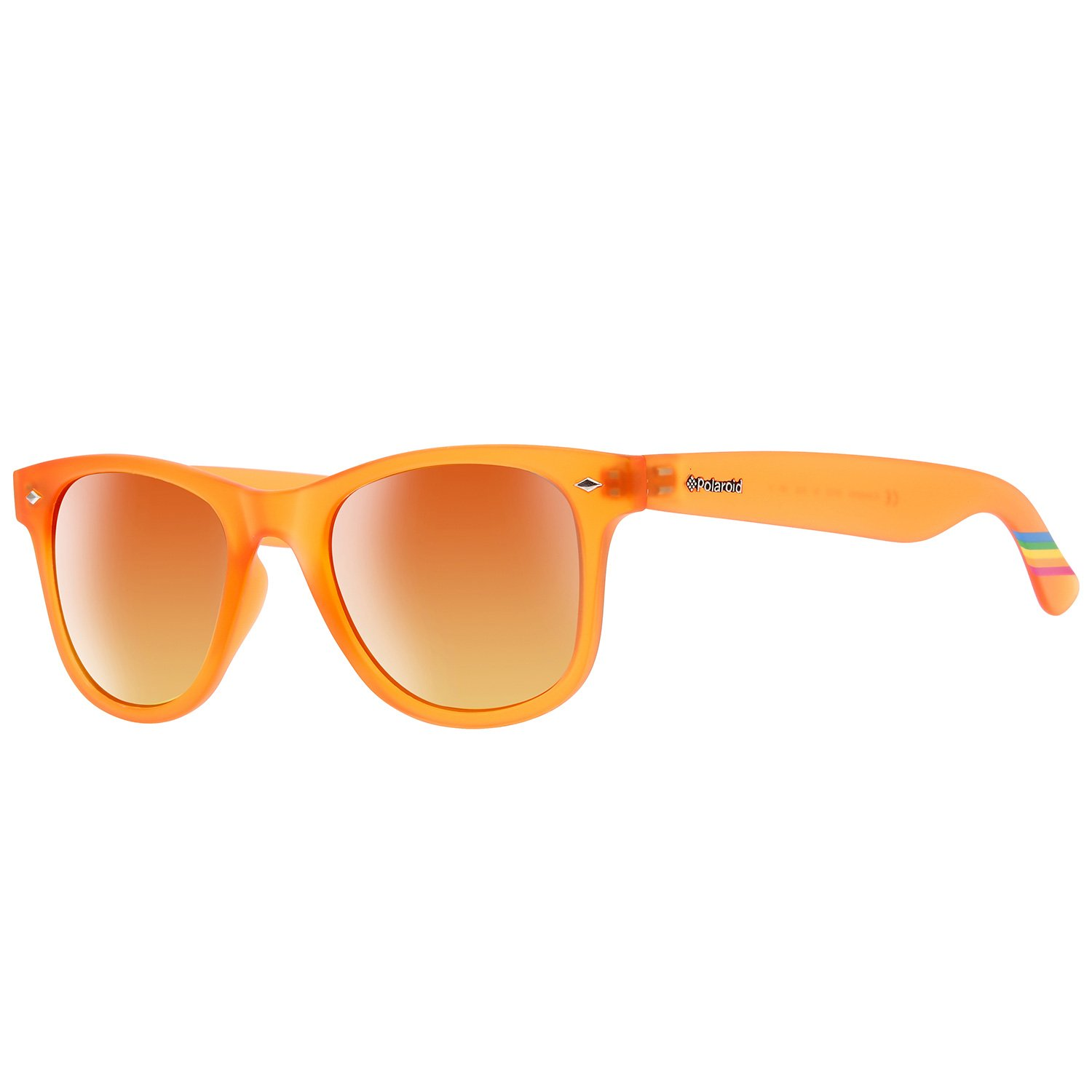 Polaroid Sunglasses PLD6009NM Wayfarer Polarized Sunglasses, Orange & Red Polarized, 50 mm Polaroid Sunglasses (Safilo Group) PLD6009/NMOZ_IMT-50