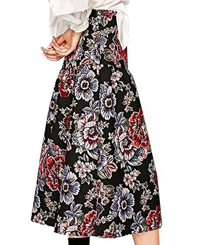 Zara Damen Midirock aus jacquard 7149/280