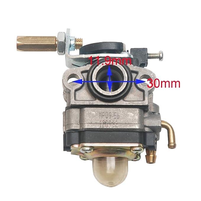 Beehive Filter - Carburador de repuesto para motoazada con motor de 4 tiempos