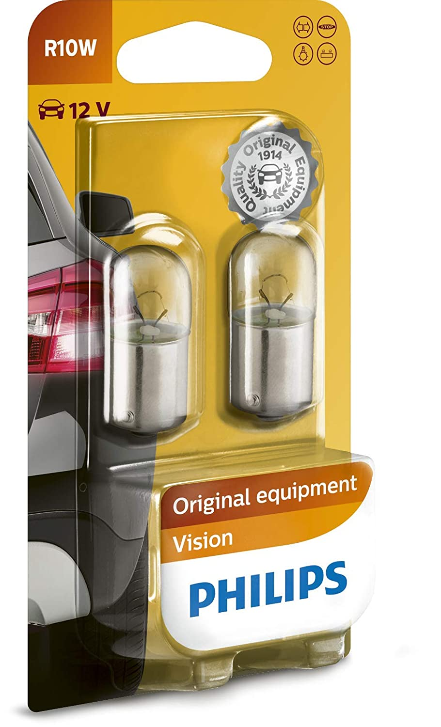 Philips 12844B2 Soffittenlampe Vision C5W