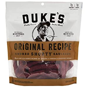 Product of Duke, Shorty Smoked Sausage Original, 16 ounces GlutenFree - No Preservatives