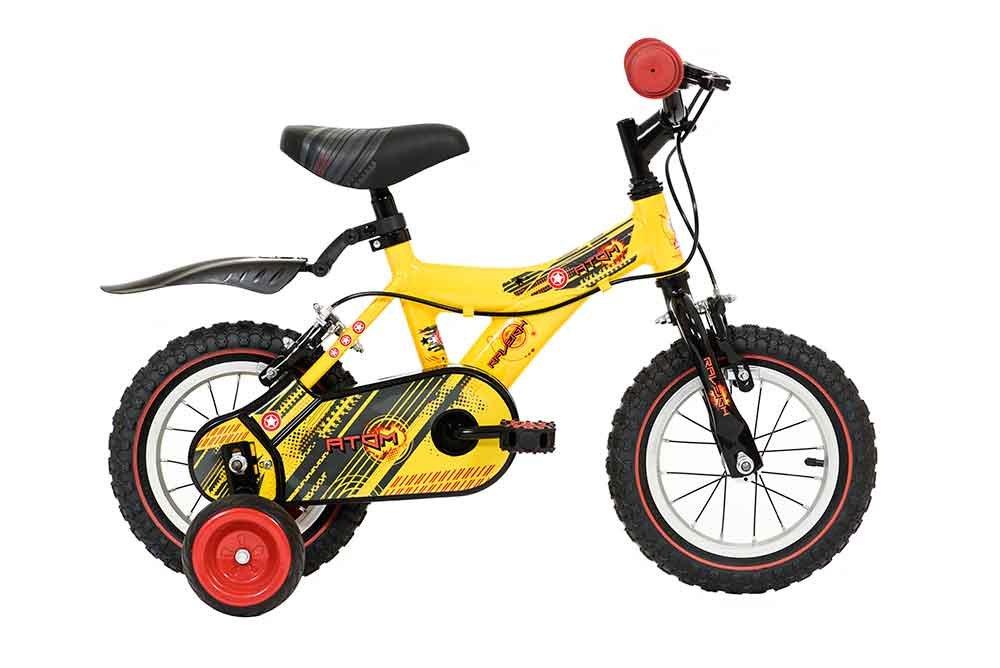 Raleigh Atom 12 Inch Children's Bike 9