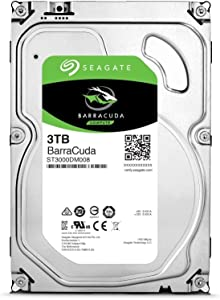 Seagate Barracuda ST3000DM001 3 TB 3.5 Internal Hard Drive - Bulk