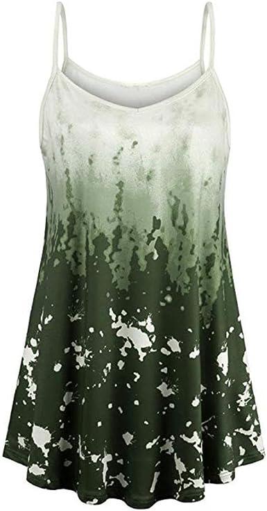 Camisolas Playa Mujer Tallas Grandes Xxl Covermason Blusa Sin Mangas Con Cuello En V Sin Mangas Para Mujer L Verde Amazon Es Ropa Y Accesorios