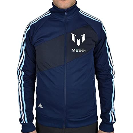 adidas Messi Hombre Chaquetas TRK Top M x12633 - XL: Amazon ...