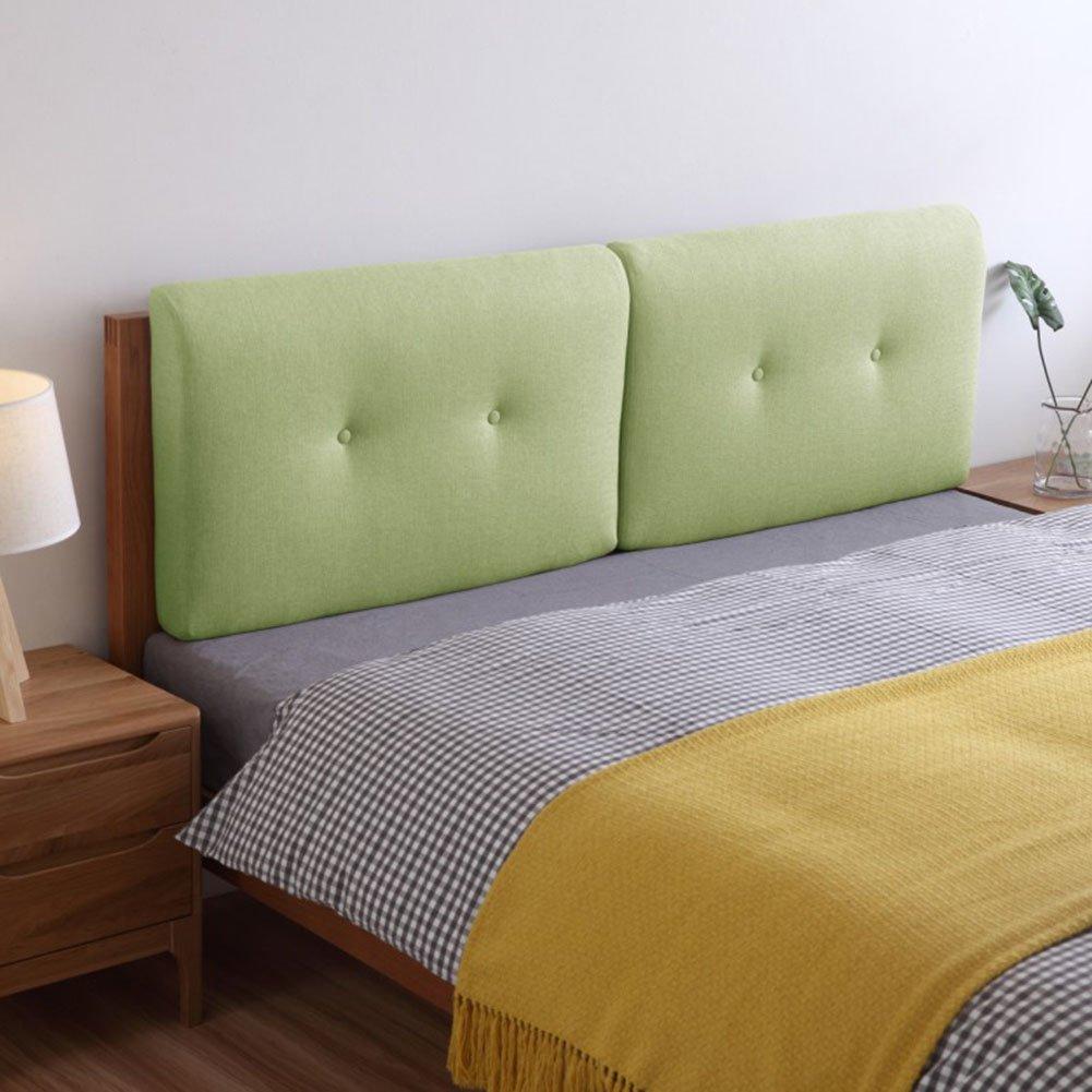 QIANGDA クッション ベッドの背もたれヘッドボード リネン スポンジライニング バンパー ウォッシャブル ダブルベッド、 10色、 4サイズあり、 1項目 (色 : 2#, サイズ さいず : 60 x 50 x 10cm) B07D3NY4MY 60 x 50 x 10cm|2# 2# 60 x 50 x 10cm