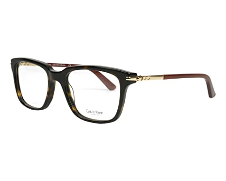96f87d207e Image Unavailable. Image not available for. Color  CALVIN KLEIN COLLECTION  Eyeglasses CK7992 214 Havana 50MM