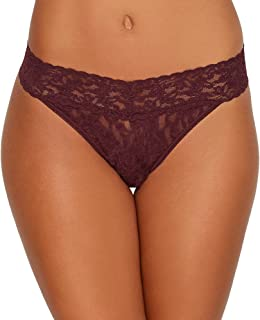 product image for Hanky Panky Stretch Signature Original Rise Lace Thong 4811