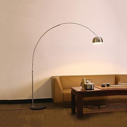 LHRain Modernas lamparas de pie Lámpara de pie, para Lectura ...
