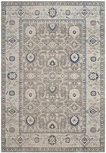 Safavieh Patina Collection PTN322F Taupe and Ivory Cotton Area Rug (6'7