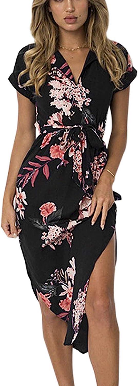 Floral Geometric Dress