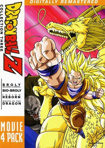 Dragon Ball Z: Movie Pack Collection Three (Movies 10-13) (Dragon Ball Z Fusion Saga Full Episodes)