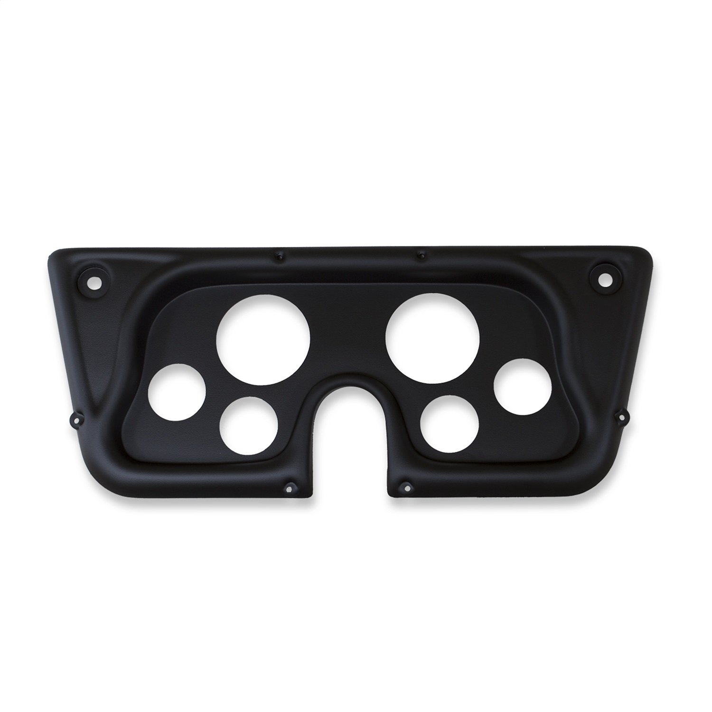 AutoMeter 7032-DB Designer Black Dash Panel Kit 6 pc Tach/MPH/Fuel/OilP/WTMP/Volt 8K RPM/160 MPH/100 PSI 100-250 F/8-18V/0E-90F Ohms Designer Black Dash Panel Kit
