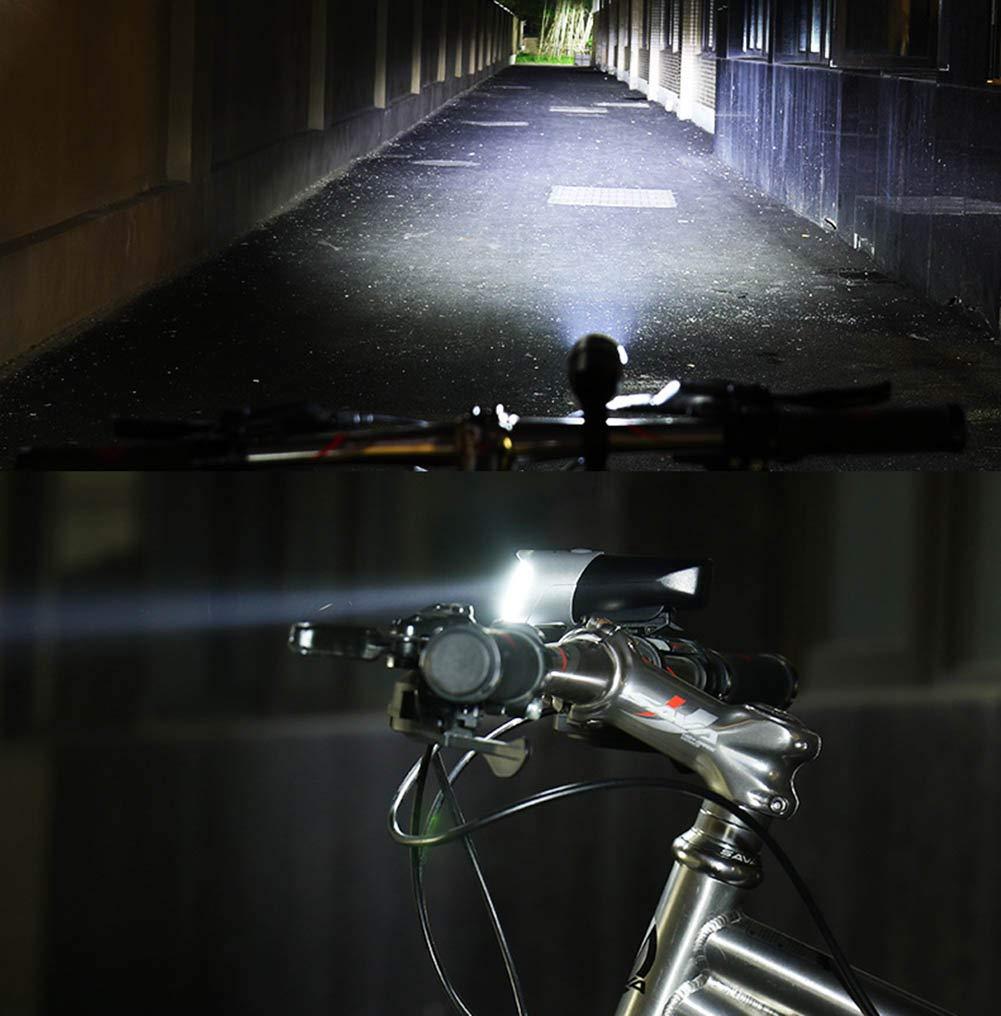 BF-DCGUN USB Rechargeable Bike Light,Bicycle Lights Bike Headlight Front Lamp Mountain Bike Light Cycling Light Waterproof LED Bike Light