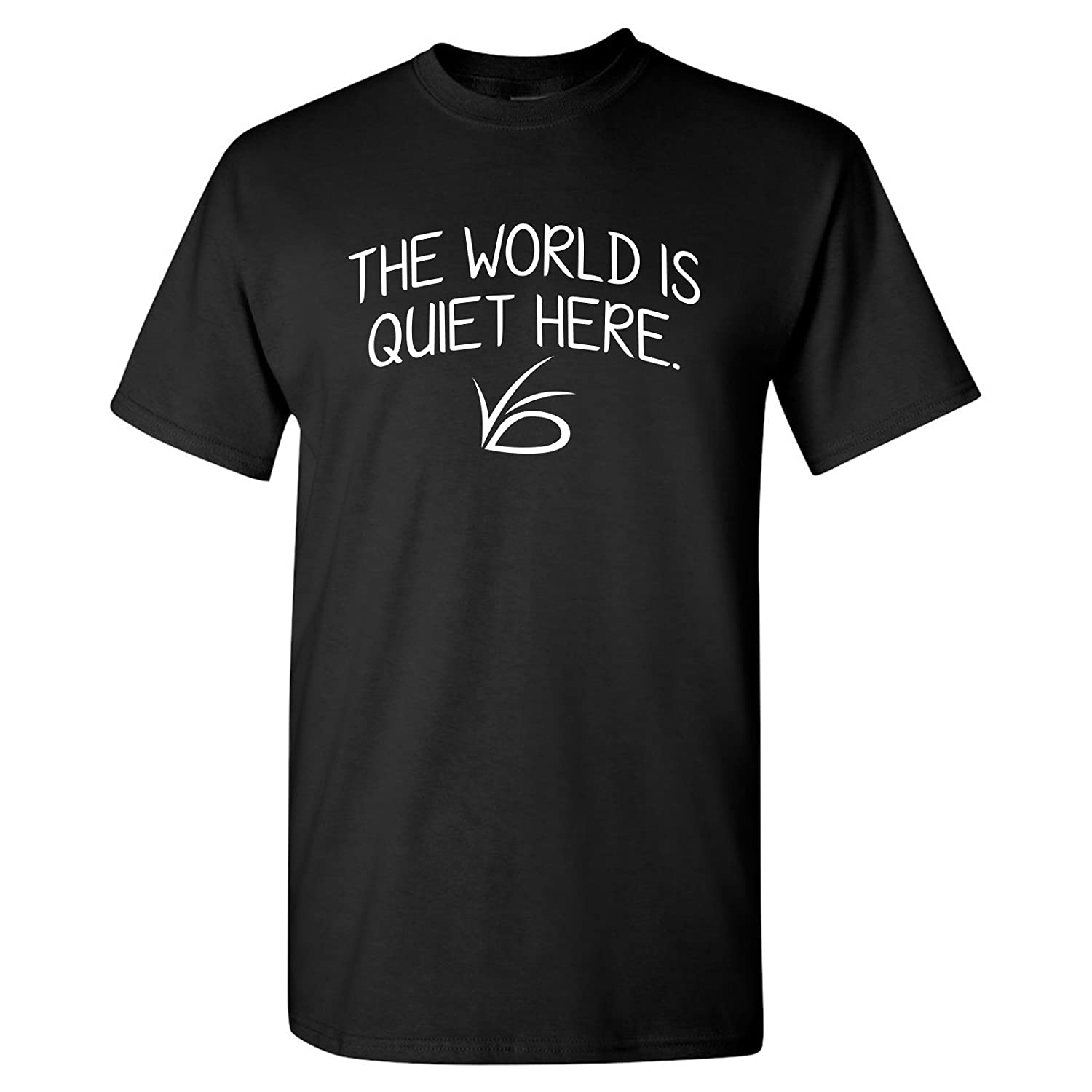 306a70fa UGP Campus Apparel The World is Quiet Here - Unlucky Silence VFD TV Show T  Shirt
