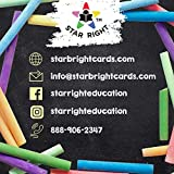 Star Right Blank Flashcards - White | 1000 Hole