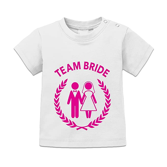 Camiseta de bebé Team Bride Own Text by Shirtcity