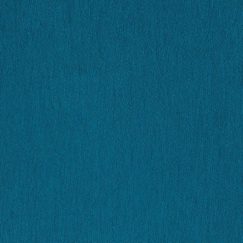 TELIO 0462839 Organic Cotton Jersey Knit Teal Fabric by The Yard